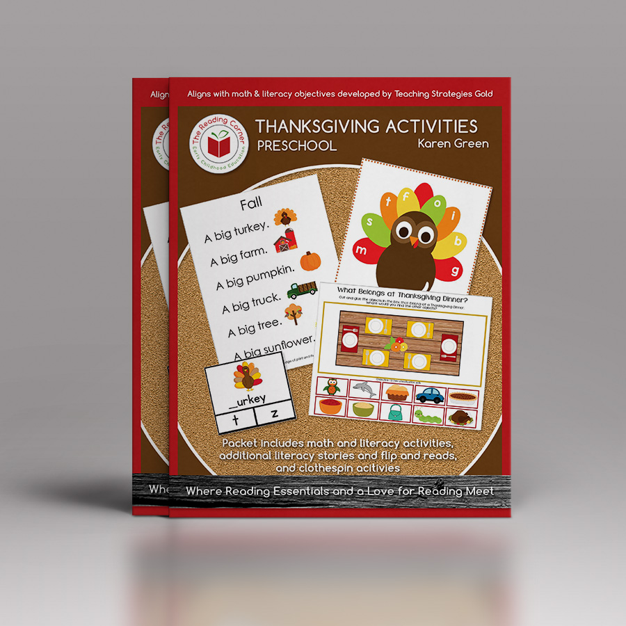 Early Preschool Thanksgiving Curriculum