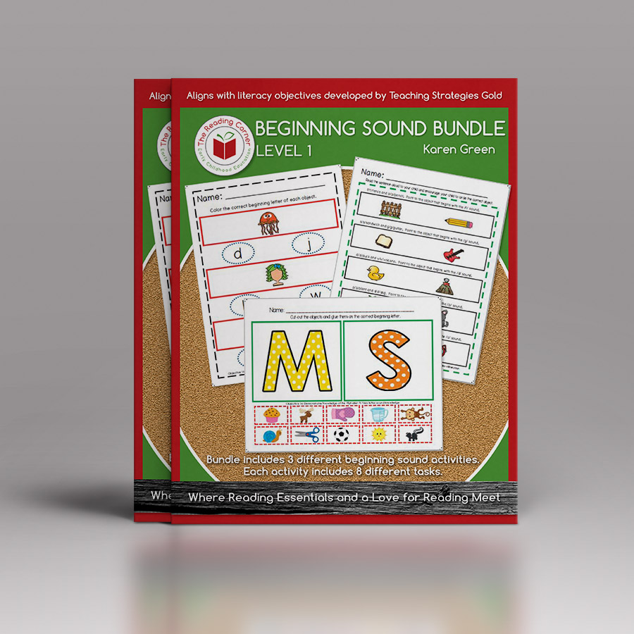 Beginning Sound Bundle – Level 1
