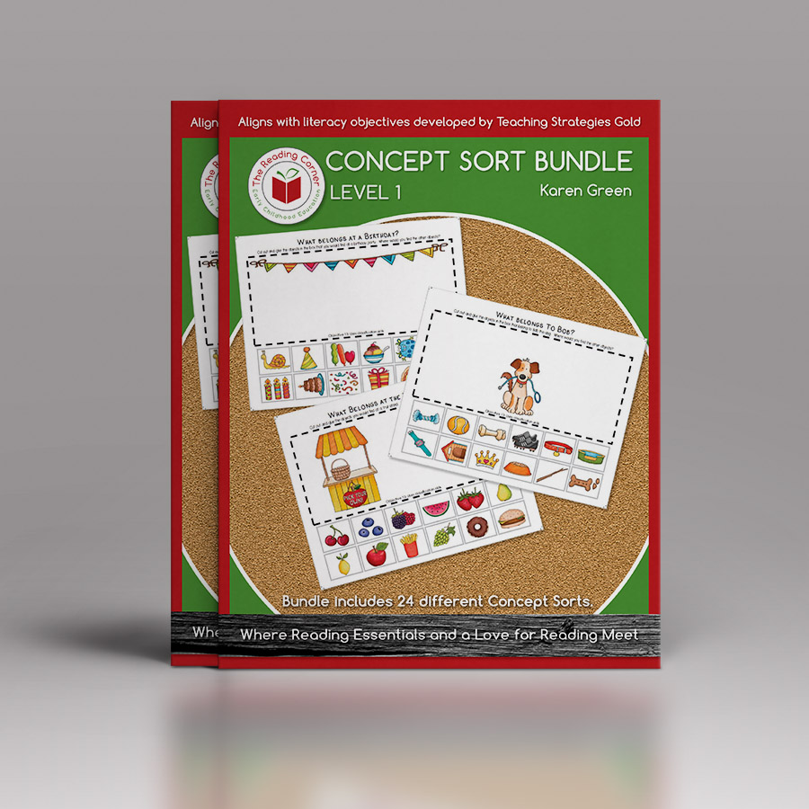 Concept Sort Bundle – Level 1