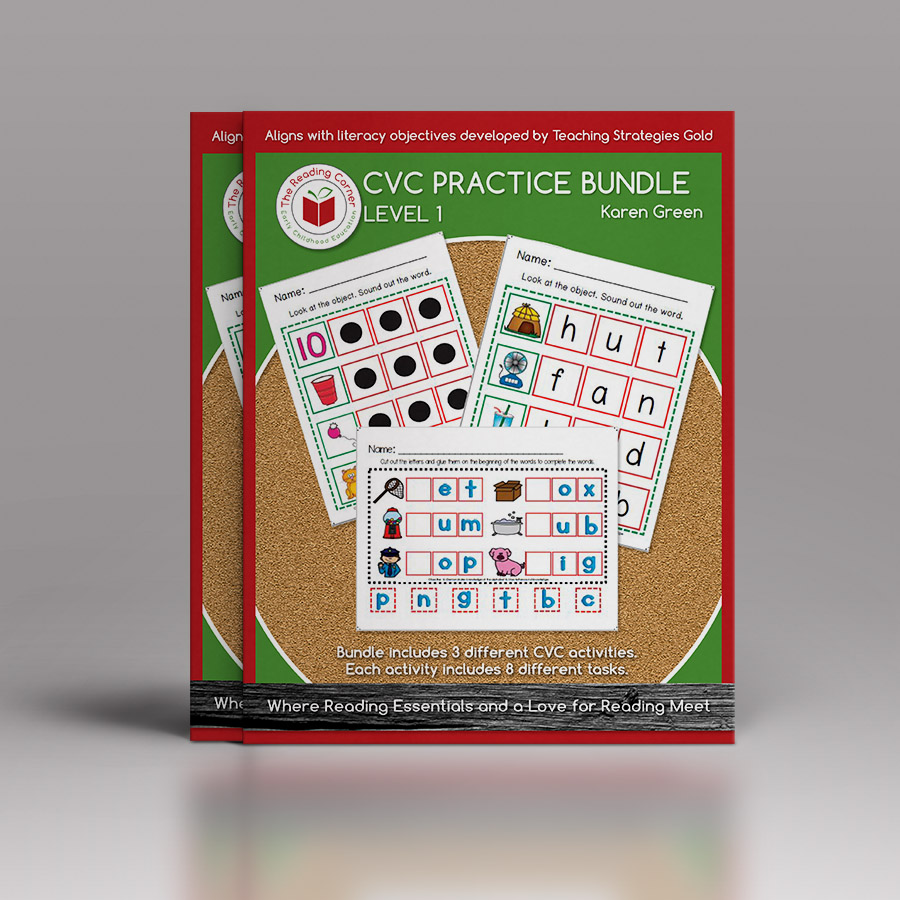 CVC Practice Bundle – Level 1