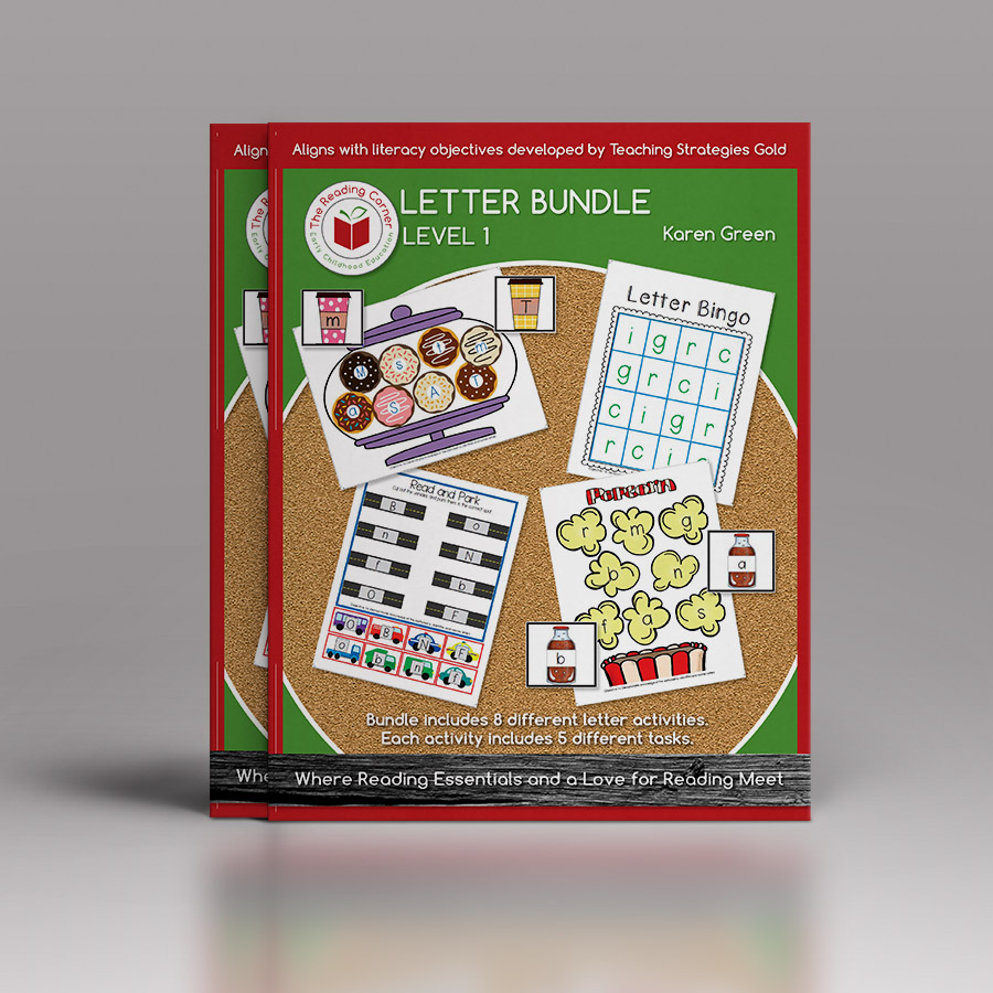 Letter Bundle – Level 1