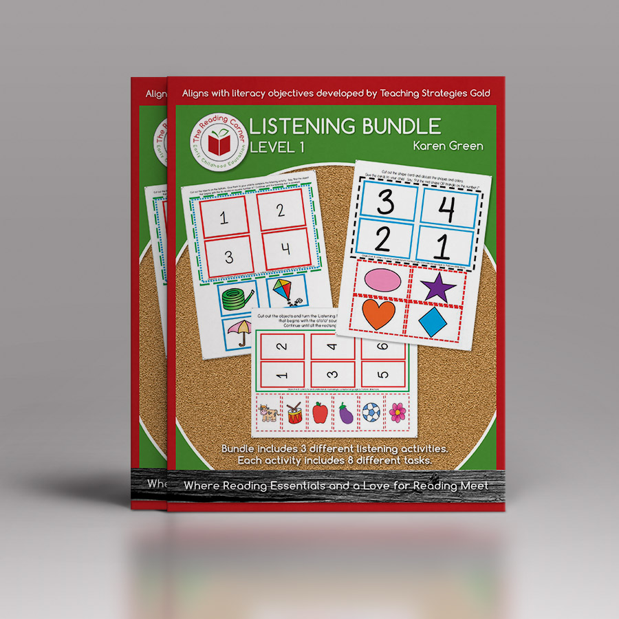 Listening Bundle for Early Preschool