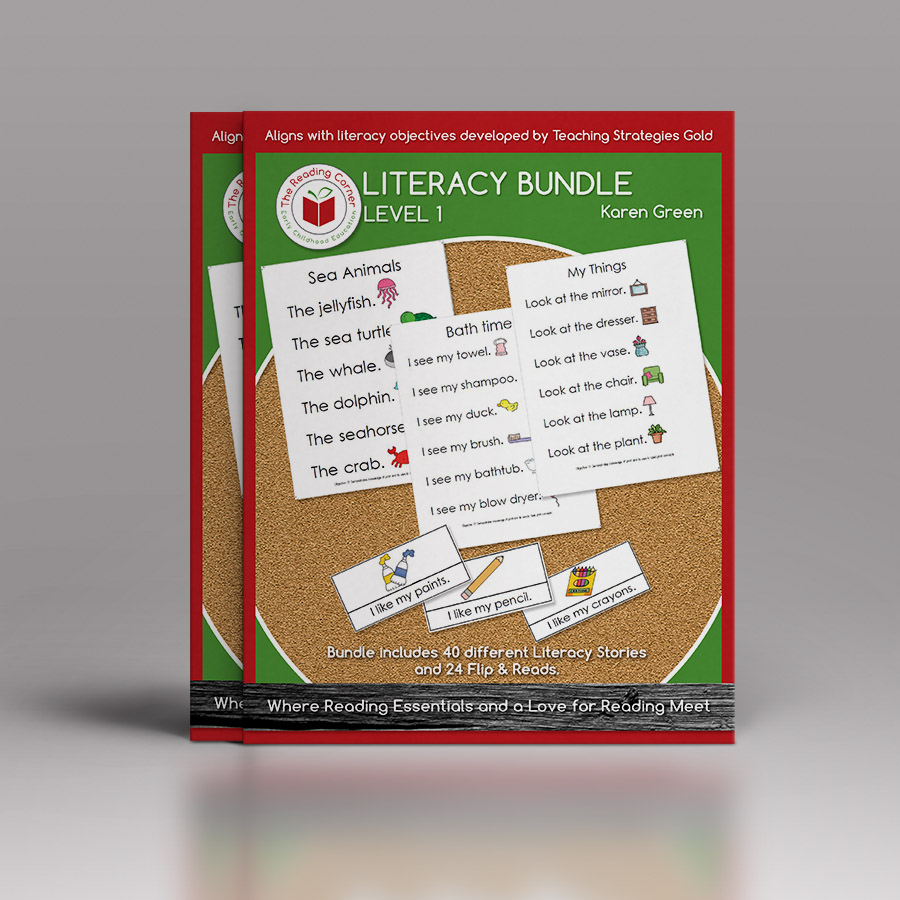 Literacy Bundle for Early Preschool