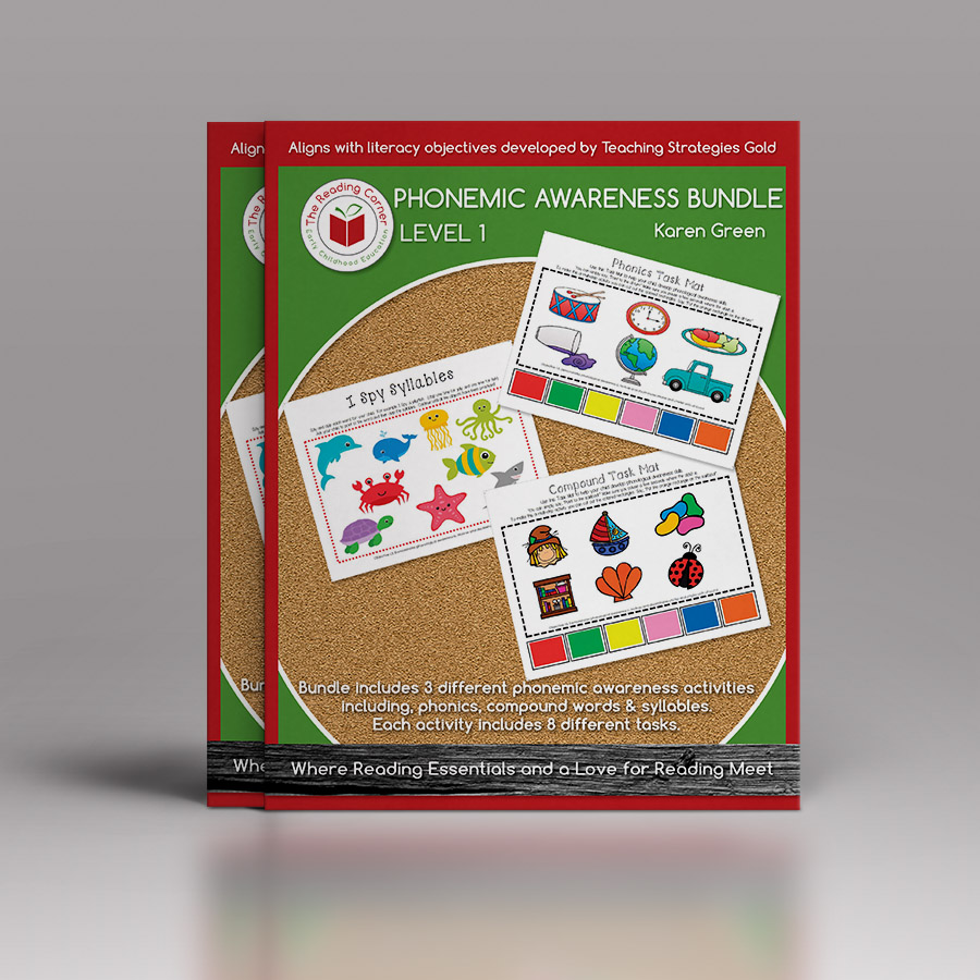 Phonemic Awareness Bundle for Early Preschool