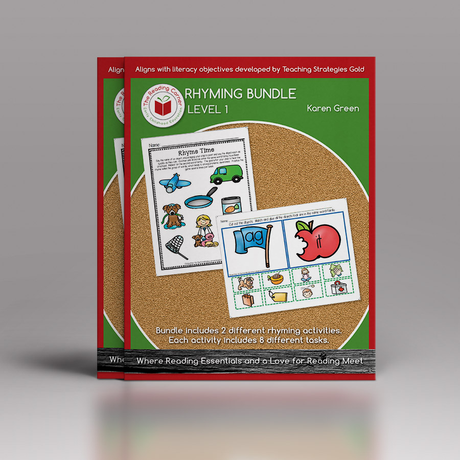 Rhyming Bundle for Early Preschool