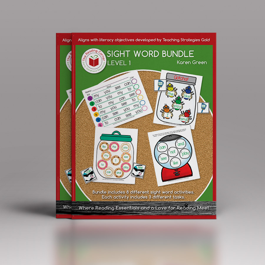 Sight Word Bundle for Early Preschool