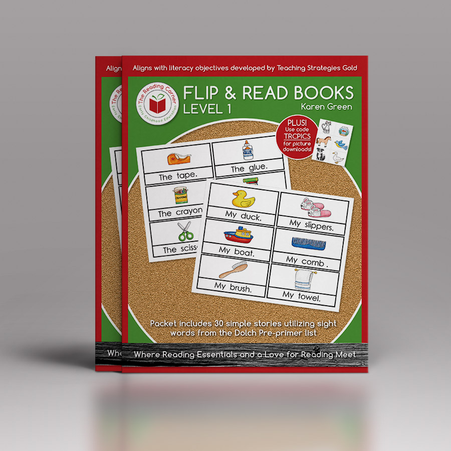 Flip & Read Books – Level 1 DRA AA