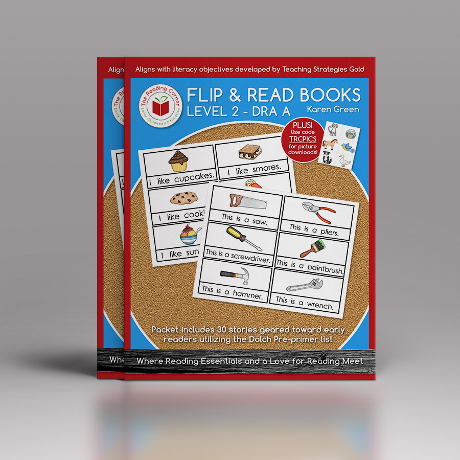 Flip & Read Books – Level 2 DRA A