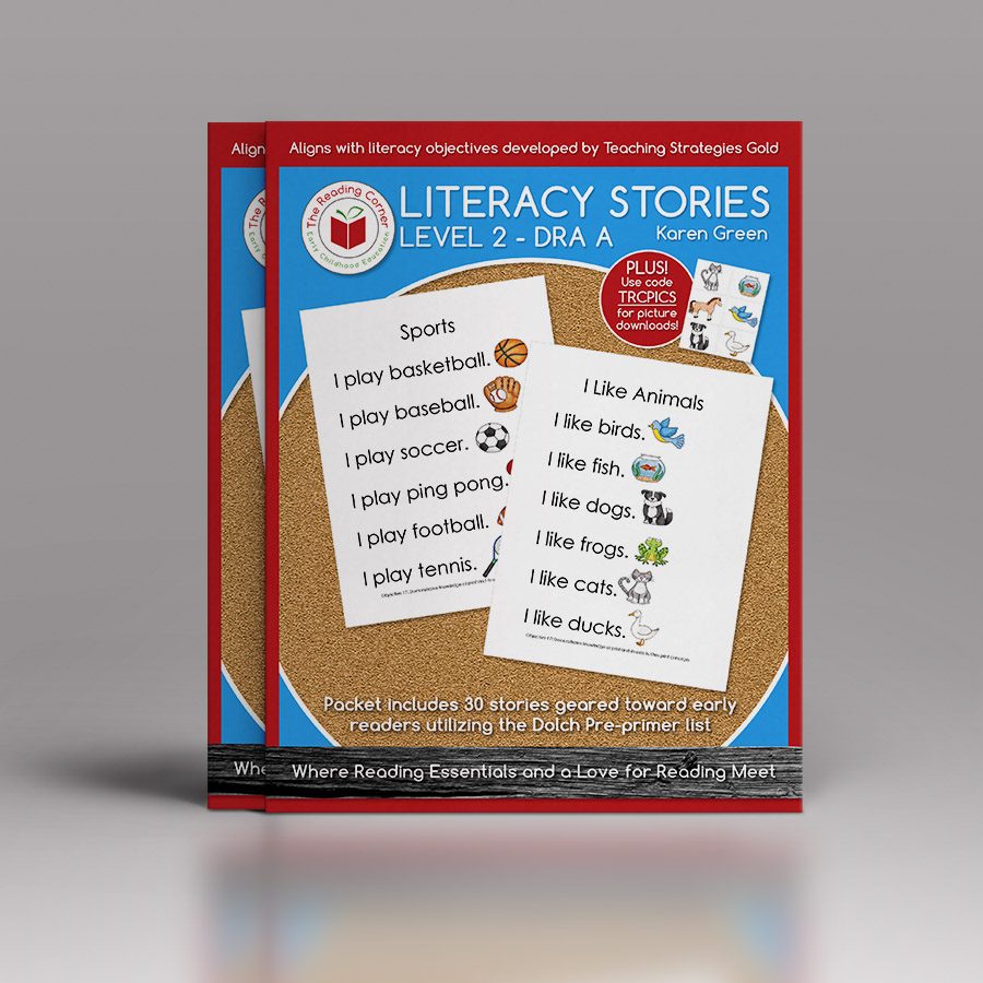 Literacy Stories – Level 2 DRA A