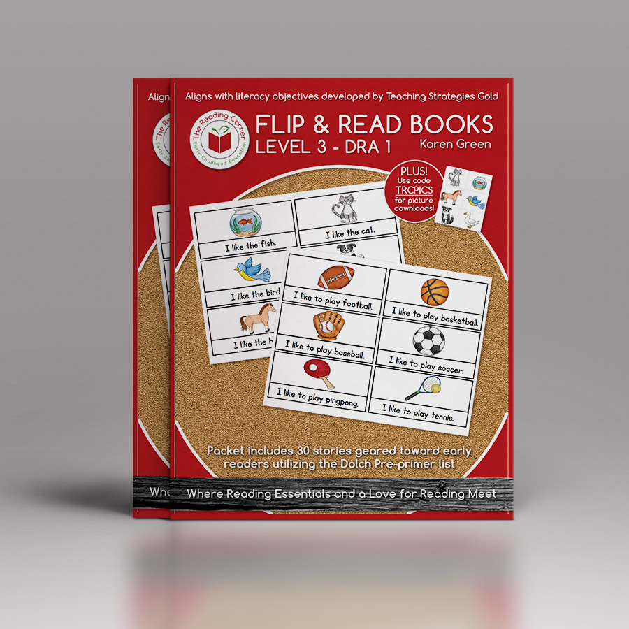 Flip & Read Books – Level 3 DRA 1