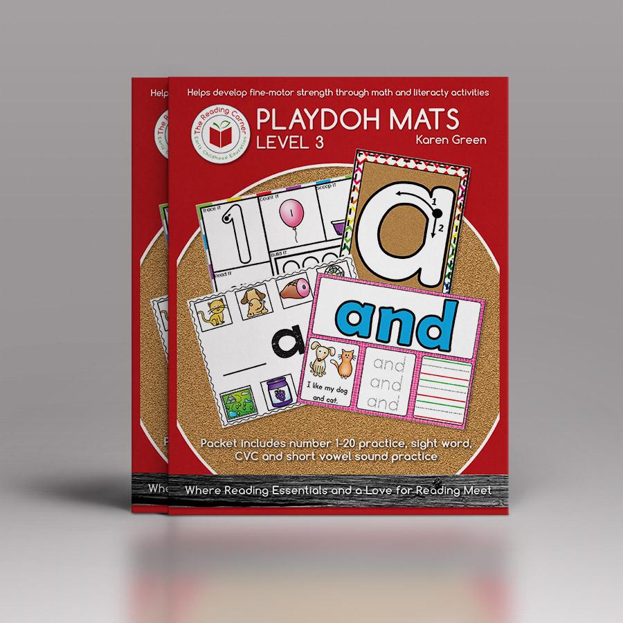Playdoh Mats – Level 3