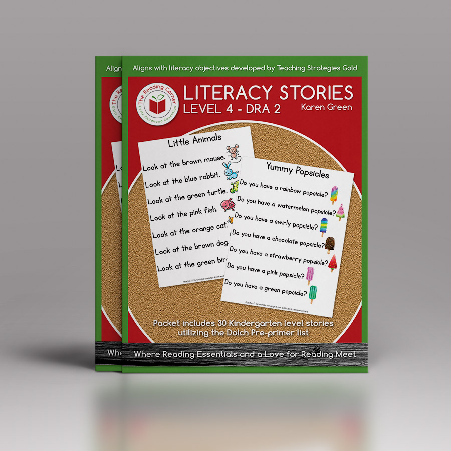 Literacy Stories – Level 4 DRA 2