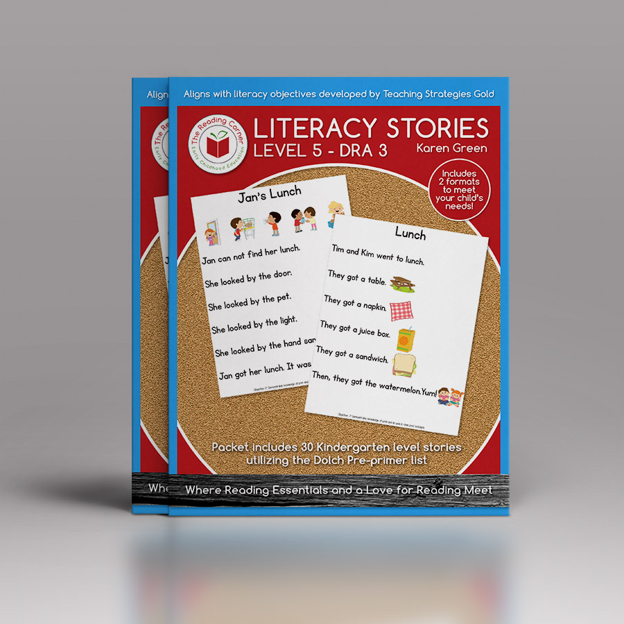 Literacy Stories – Level 3 DRA 1
