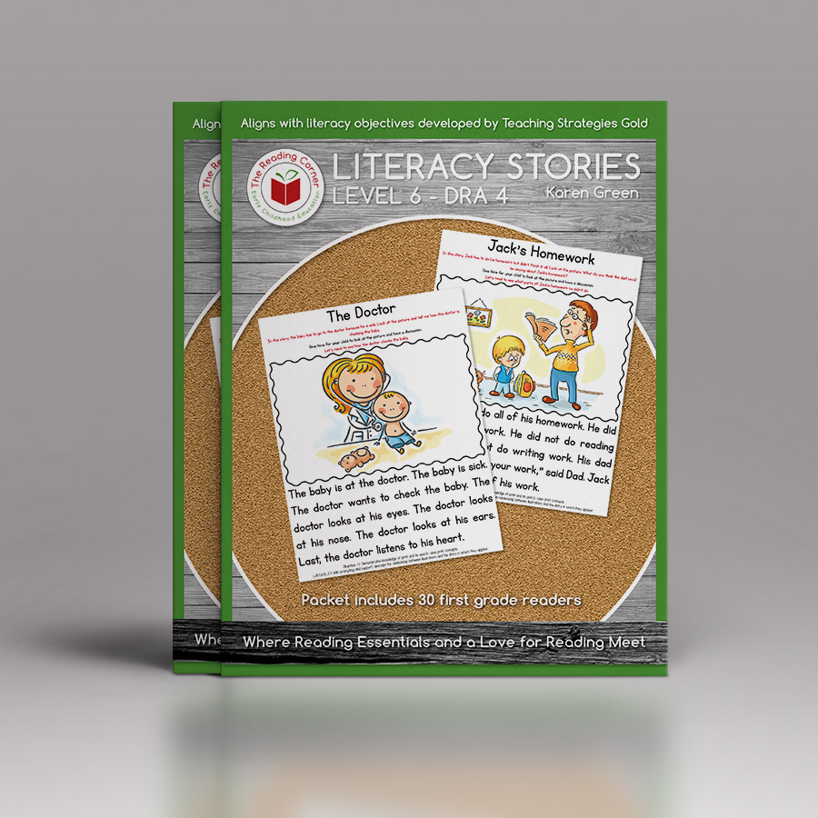 Literacy Stories – Level 6 – DRA 4