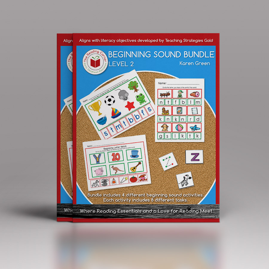 Beginning Sound Bundle – Level 2