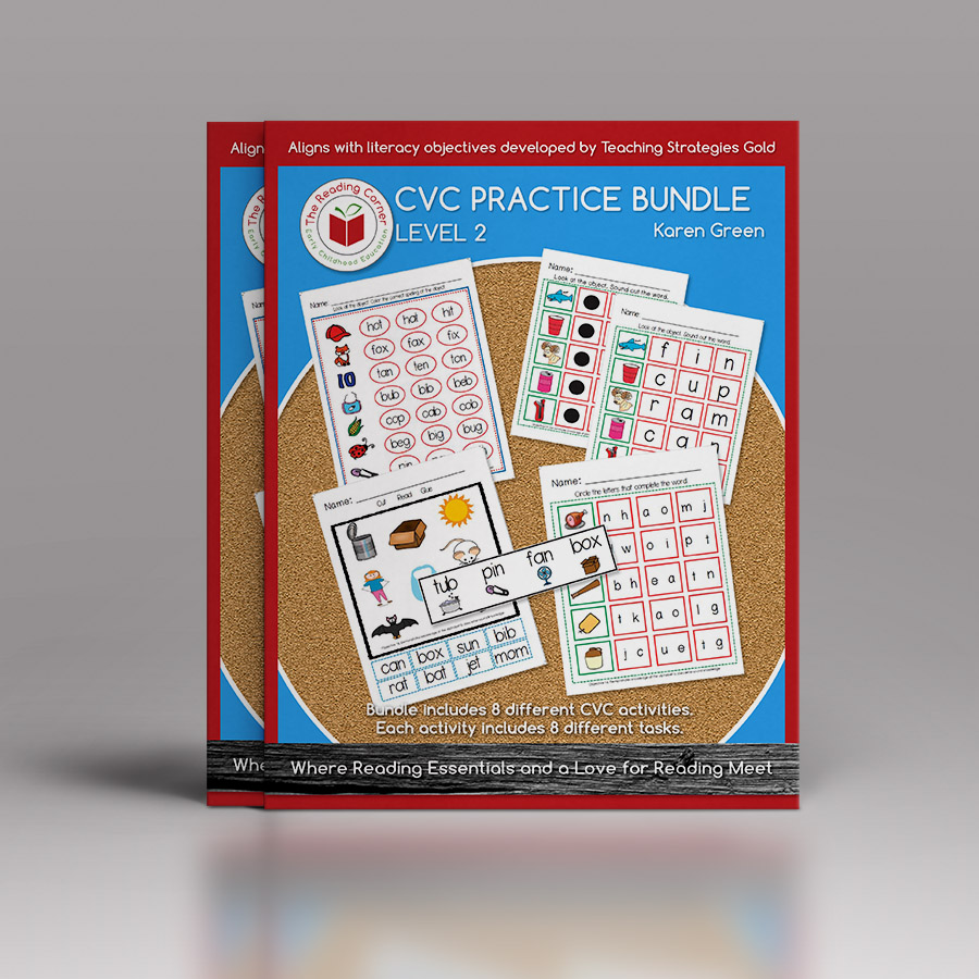 CVC Practice Bundle – Level 2