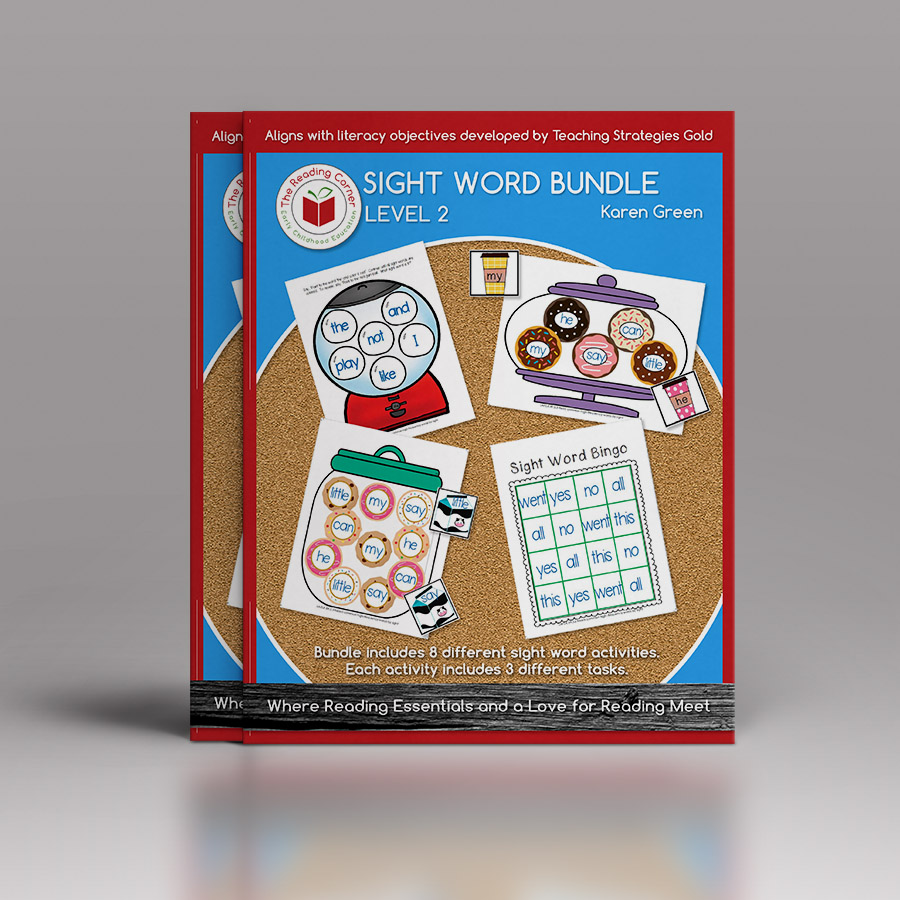 Sight Word Bundle – Level 2
