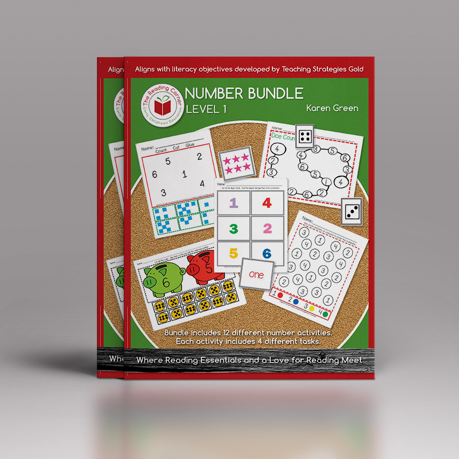 Number Bundle for Early Preschool