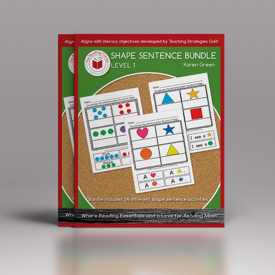 Shape Sentence Bundle for Early Preschool