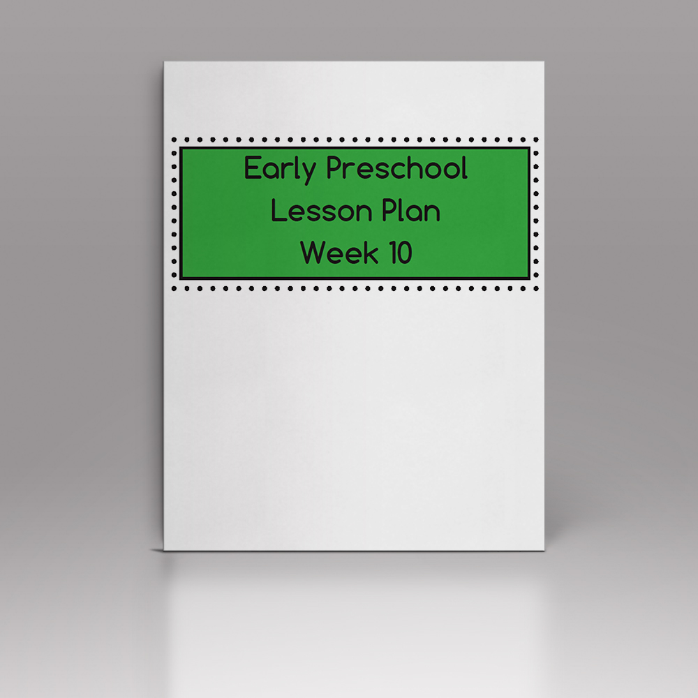 Week 10 – EP Lesson Plan