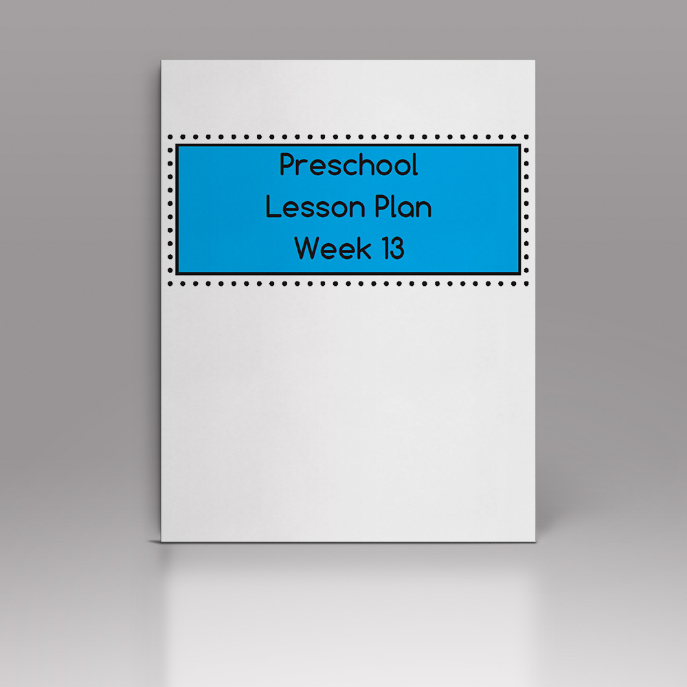 Week 13 – P Lesson Plan
