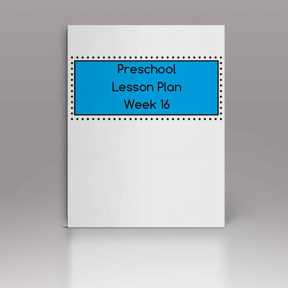 Week 16 – P Lesson Plan